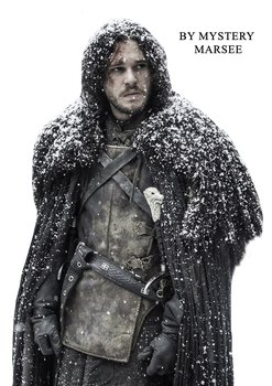 PNG Jon Snow by Mystery-Marsee