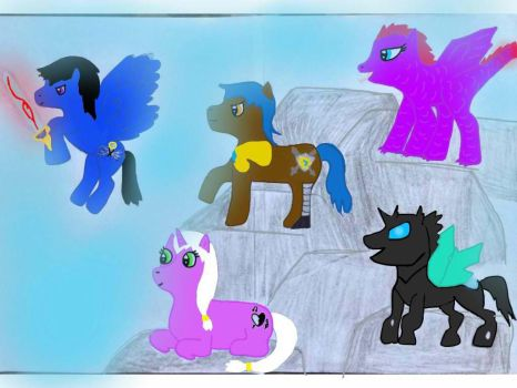 Fallout Equestria: Neo Fantasia Characters by PrinceUniversa