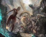 ULTRAWOMAN VS GODZILLA/KING GHIDORAH/GAMERA/ANGIRU by paulobarrios