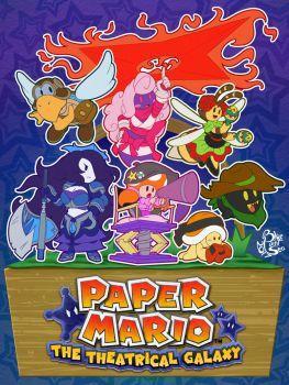Papery Pals 2017 by Blue-Paint-Sea