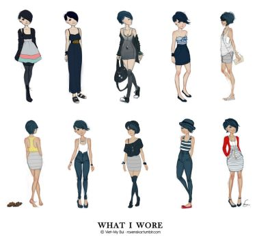 What I Wore 02 by vmbui