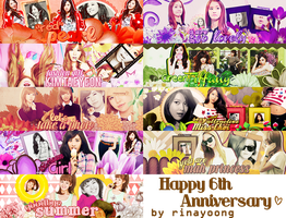 [050813] Happy 6th Anniversary Pack #3 by rinayoong