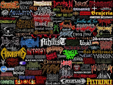 Death Metal Holocaust II by infernosilver