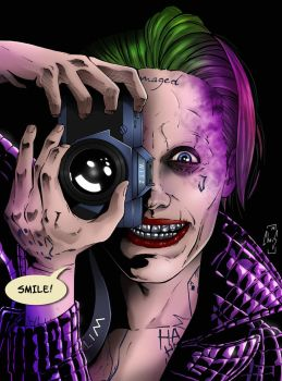 The Killing Joke Suicide Squad version by Spidertof