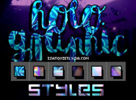 +Holographic Styles by ISatQuietly