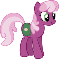 SCRUNCHY FACE CHEERILEE by Somepony