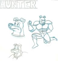 Hunter-1 Pencil by LimiTeD-Artist