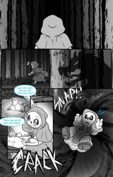 little blue riding hood page 2 by Melle-d