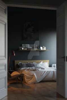 bedroom by alghalia