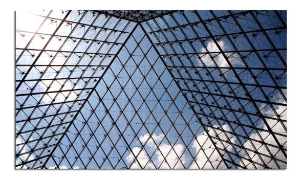 Louvre the Building 3 by unclejuice