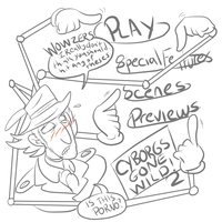 Stream Requests - Gadget and the DVD Menu by Smurfwizard