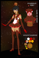 Brilliant Sailor Scarlet Emerald Scorpion by iLantiis
