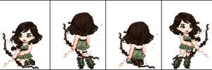 Forest Huntress (closed) by This-adopt-account
