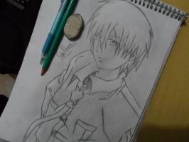 Dennis Lawrence from Lawliet by gabrielalmir10