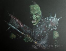Orc - Finished by Girlgoth
