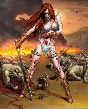 red sonja 2 by SuperAthos