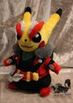 Cosplay Pikachu Rockstar view 2 by Forge-Your-Fantasy