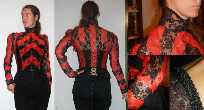 Victorian inspired jacket by MilieLitre