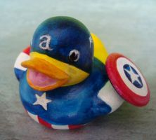 Cpt America Ducky by Caen-N