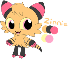 Zinnia Reference by P4ND4-ST4R