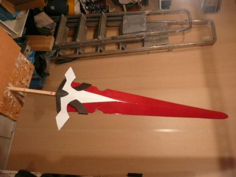 Cosplay Progress - Lord Knight Weapon by Fixii