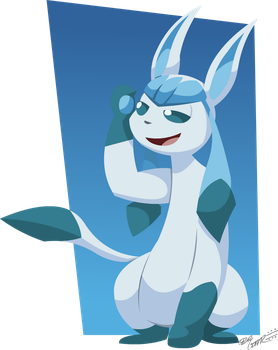 A Glaceon by PotooBrigham