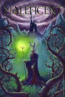 MALEFICENT Movie Poster by VTomi