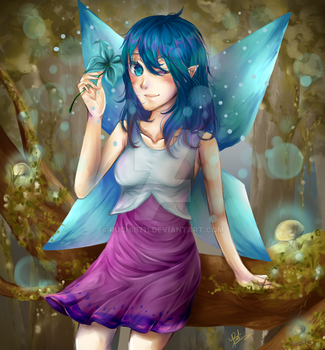 UsaRemy's Contest Entry: Remy's Magic Forest by ruchib711