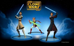 The Clone Wars: Phase 1 Heroes by MoonySascha
