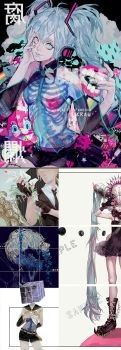 Preorder [Decay] Vocaloid Artbook by Krawark