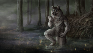In the mist by Wolnir