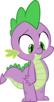 Spike - vector by VaderPL