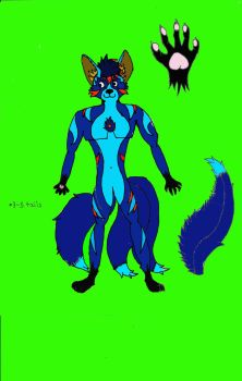 My character/ possible fursona by how2101