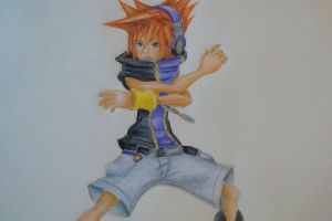 Neku Sakuraba by Highway3