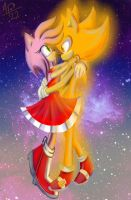 Super SonAmy by AmeliaPearce22