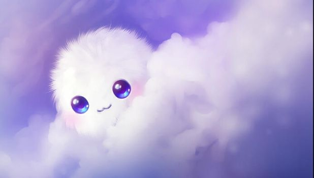 Fluffy Balls :3 by DerpyCookieMonsters