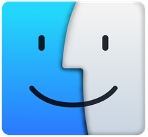 OS X El Capitan Finder logo(vector) by Windows7StarterFan