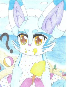 Foxfan DTA 2017 - Entry 4 - Something on your face by EkanaCat777