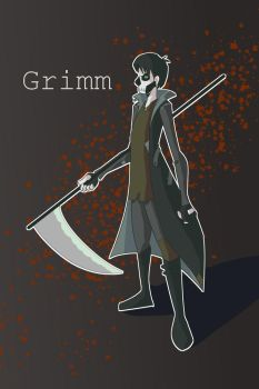 Grim- speed paint by briannabailey