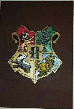 Harry Potter Crest by aperfectmjk
