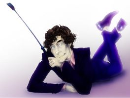 Sherlock BBC: Riding Crop by DuoD