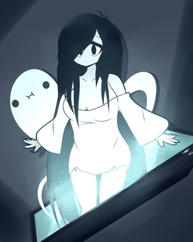 Ghost Waifu by Tkeio