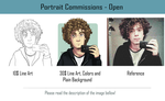 Portrait Commissions by Marcos-A-Rodrigues