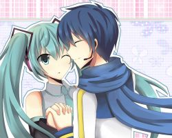 miku x kaito by Angelschatedral99