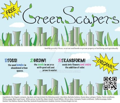 Green Scapers label by Kimiski