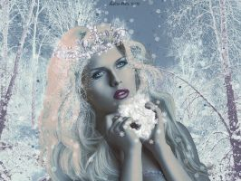 Snow Queen Portrait by Lolita-Artz
