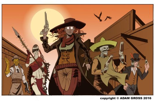 WeirdWest by AdamGross