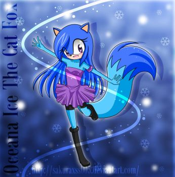 Oceana Ice The Cat Fox by sakuraxss005