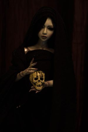 Woman in Black by MyDeviousDeath