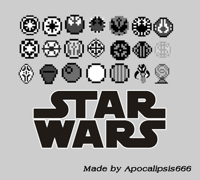 StarWars-Brushes by apocalipsis666